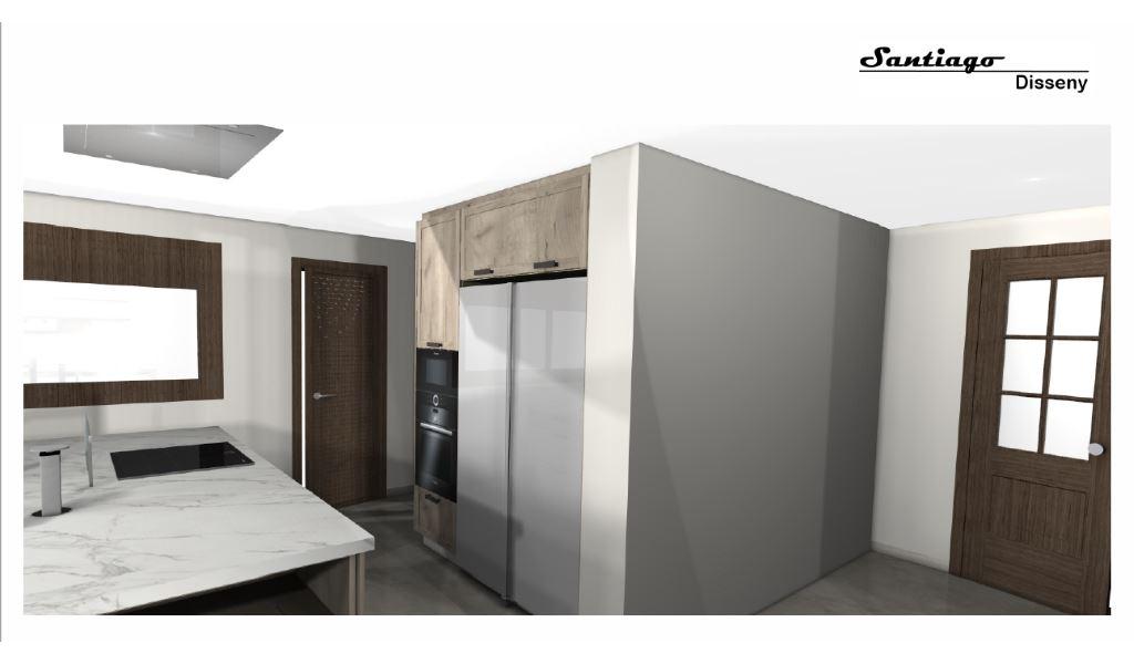 Interiorismo santiago disseny dise o de cocinas en for Programas 3d interiorismo