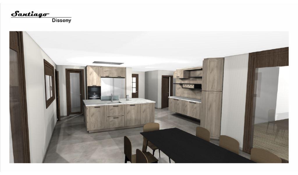Interiorismo santiago disseny dise o de cocinas en reus y tarragona muebles de cocina en - Muebles cocina tarragona ...